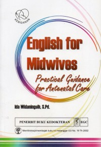Image of English for midwives: practical guidance for antenatal care
